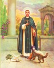 St. Martin de Porres Print - Sold in 3 per pack