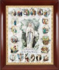 Mysteries of the Rosary Framed Print - 4 Frame Options Available - #27 Frame