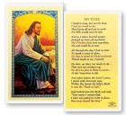 No Time Christ By The Sea Laminated Prayer Cards 25 Pack