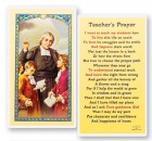Teacher's Prayer J.B. Delasalle Laminated Prayer Cards 25 Pack