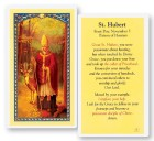 Prayer To St. Hubert Laminated Prayer Cards 25 Pack