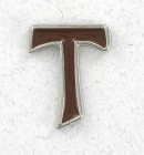 Tau Cross Lapel Pin (12 pieces per order)