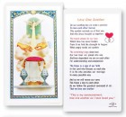 Love One Another Marriage Laminated Prayer Cards 25 Pack