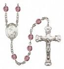 Women's St. Charles Borromeo Birthstone Rosary