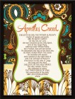 Apostles' Creed Framed Wall Plaque