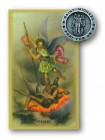 St. Michael Lapel Pin with Holy Card
