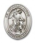 Oval Guardian Angel Visor Clip