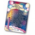 Birthday Prayer, Prayer Card - pack of 25