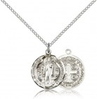 Round St. Benedict Medallion - 3 sizes available
