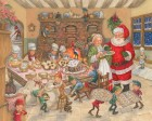 Santa's Kitchen Jigsaw Puzzle