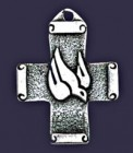 Dove Cross Pendant