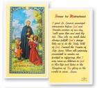 St. Gerard  Motherhood Laminated Prayer Cards 25 Pack