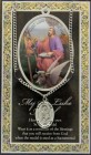 St. Luke Medal in Pewter with Bi-Fold Prayer Card