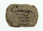 "Courage Paperweight, Resin - 3 3/4""W"