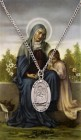 Oval St. Anne Medal with Prayer Card