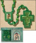 Our Lady of Guadalupe Rosary and Prayer Card - 3 per order