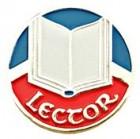 Lector Lapel Pin