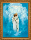 Christ Welcoming Home Framed Print - 4 Frame Options Available