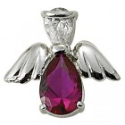 Angel Pin- July Birthstone