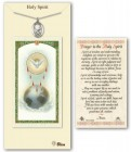 Holy Spirit Medal in Pewter with Prayer Card