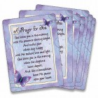 A Prayer for You. God Bless You Prayer Card - pack of 25