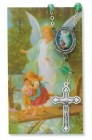 Guardian Angel Auto Rosary with Prayer Card