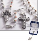 Our Lady of Guadalupe Glass Rosary