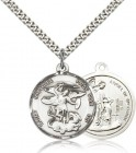 Double Sided St. Michael & Guardian Angel Medal