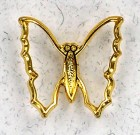 Cutout Butterfly Lapel Pin (12 pieces per order)