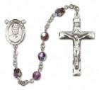 St. Josephine Bakhita Rosary Heirloom Squared Crucifix