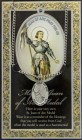 St. Joan of Arc Medal in Pewter with Bi-Fold Prayer Card