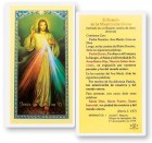 El Rosario De La Misericordia Laminated Spanish Prayer Cards 25 Pack