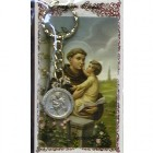 St. Anthony Key Ring with Prayer Card