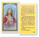 Acceptance Laminated Prayer Cards 25 Pack