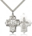 Men's Chalice Center 5-Way Pendant