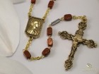 Ghirelli Rosary, St. Francis of Assisi, St. Francis / St. Clare Centerpiece and the Four Evangelists Crucifix