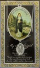 St. Brigid Medal in Pewter with Bi-Fold Prayer Card