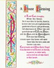 House Blessing Print - Sold in 3 per pack