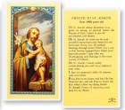 St. Joseph Laminated Prayer Cards 25 Pack