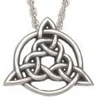 "Celtic Trinity Knot Pendant - 1"""