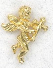 Angel and Cross Lapel Pin (12 pieces per order)
