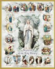 Mysteries of the Rosary Gold Framed Print
