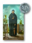 St. Peregrine Lapel Pin with Holy Card