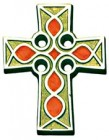 Celtic Wall Cross - 2.75 inches