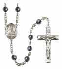Men's St. Albert the Great Silver Plated Rosary