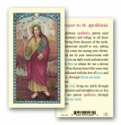St. Apollonia Laminated Prayer Cards 25 Pack