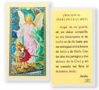 Angel De La Guarda Del Puente Laminated Spanish Prayer Cards 25 Pack