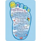 Footprints for Children Prayer Card - pack of 25