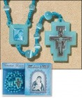 Madonna and Child Rosary and Prayer Card - 3 per order