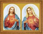 The Sacred Hearts Framed Print - 4 Frame Options Available